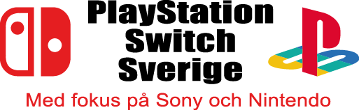 PlayStation Switch Sverige