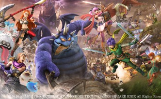 DQ Heroes 2 - Banner